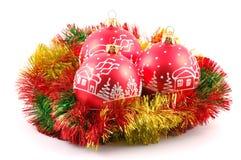 Het speelgoed van Kerstmis Stock Afbeeldingen