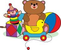 Het Speelgoed van kinderen stock illustratie