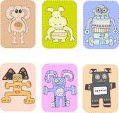 Het speelgoed van kinderen Vector Illustratie