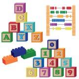 Het speelgoed van kinderen. Stock Fotografie