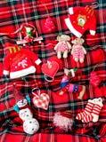 Het speelgoedinzameling van Kerstmis Royalty-vrije Stock Foto