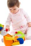 Het speelknipsel van de baby Royalty-vrije Stock Afbeeldingen