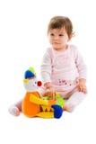 Het speelknipsel van de baby Royalty-vrije Stock Foto