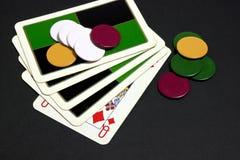 Het spel Royalty-vrije Stock Foto's