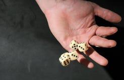 Het spel dobbelt Royalty-vrije Stock Fotografie