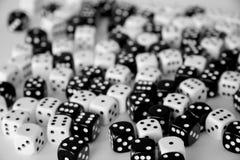 Het spel dobbelt Royalty-vrije Stock Foto