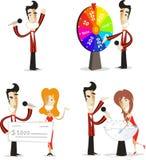 Het spel toont reeks 2 van de gastheeractie Royalty-vrije Stock Foto