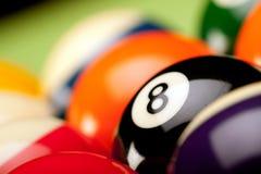 Het Spel van Billard! Stock Foto's