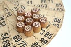 Het spel van bingo Royalty-vrije Stock Afbeeldingen