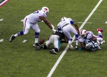 Het spel van de Buffalo Billsvoetbal Stock Fotografie