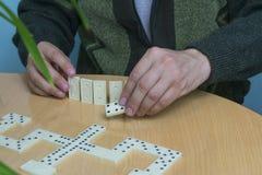 Het spel van de domino Royalty-vrije Stock Fotografie