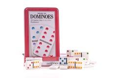 Het Spel van de domino Stock Afbeeldingen