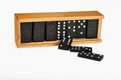 Het spel van de domino Royalty-vrije Stock Foto's