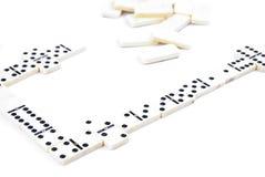Het Spel van de domino Stock Fotografie