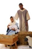 Het spel van de Geboorte van Christus Royalty-vrije Stock Foto