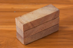 Het spel van de houtsnedetoren voor kinderen Stock Afbeeldingen