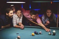 Het Spel van de pool royalty-vrije stock foto
