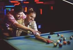 Het Spel van de pool royalty-vrije stock afbeelding