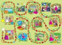 Het spel van de raad âThumbelinaâ Royalty-vrije Stock Fotografie