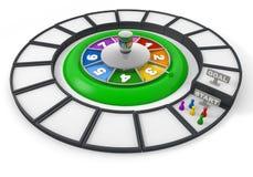 Het Spel van de roulette Stock Fotografie