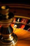 Het spel van de roulette Stock Afbeeldingen