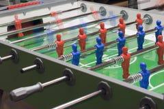 Het spel van de voetbal Stock Afbeeldingen