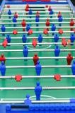 Het Spel van de Voetbal van de lijst Stock Afbeeldingen