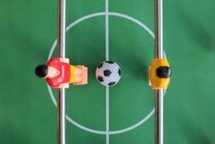 Het Spel van de Voetbal van de lijst royalty-vrije stock afbeelding