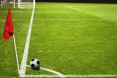 Het Spel van de Voetbal van het voetbal \ Stock Afbeelding