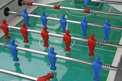 Het spel van de voetballijst Stock Fotografie