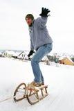 Het spel van de winter Royalty-vrije Stock Foto