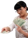 Het spel van dollars Royalty-vrije Stock Foto's