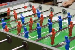 Het spel van Foosball Stock Afbeeldingen
