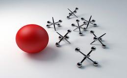 Het spel van hefbomen vector illustratie