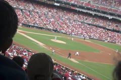 Het Spel van het honkbal Stock Foto's