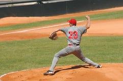 Het spel van het honkbal royalty-vrije stock afbeeldingen