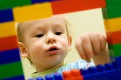 Het spel van het kind Stock Foto