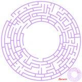 Het spel van het labyrint voor jonge geitjes Royalty-vrije Stock Fotografie