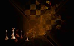 Het spel van het leven, de Herfst Stock Fotografie