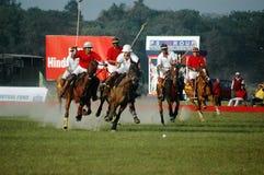 Het Spel van het polo van kolkata-India Stock Fotografie