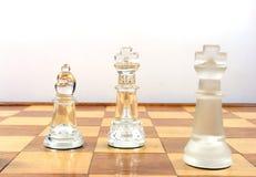 Het Spel van het schaak - stock foto's