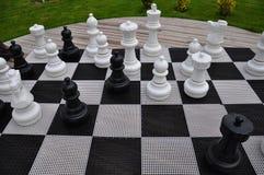 Het spel van het schaak Royalty-vrije Stock Foto