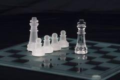 Het spel van het schaak Royalty-vrije Stock Foto's