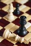 Het Spel van het schaakmatschaak Stock Foto's