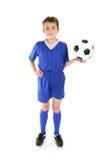 Het spel van het voetbal stock fotografie