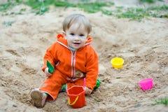 Het spel van het zand Royalty-vrije Stock Afbeelding