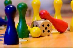 Het spel van kinderen Stock Foto