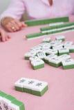 Het spel van Mahjong Royalty-vrije Stock Foto's