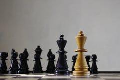 Het Spel van het strategieschaak royalty-vrije stock foto