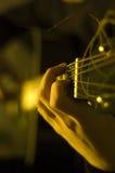 Het spelen gitaar royalty-vrije stock fotografie